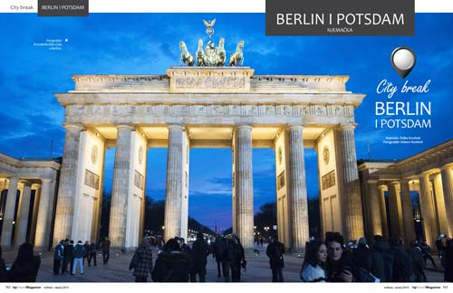 City break Berlin i Potsdam