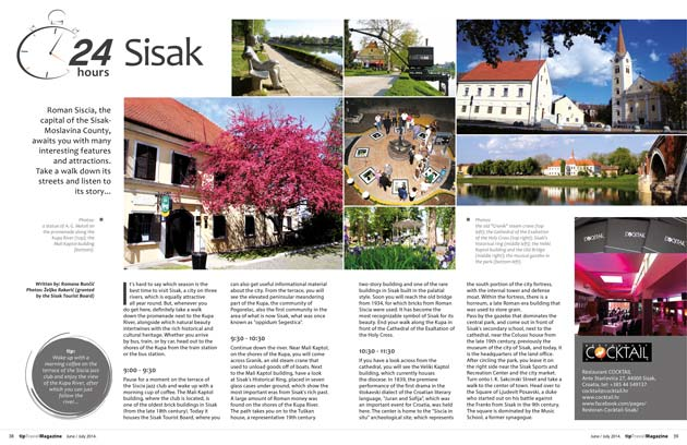 24 hours in Sisak