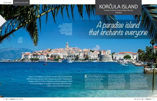 Korcula Island - A paradise island that enchants everyone