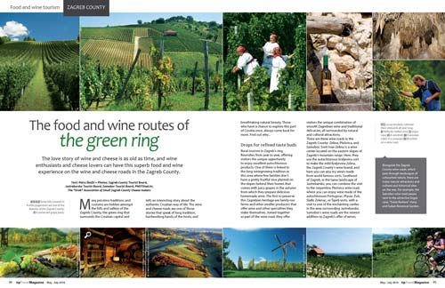 The food and wine routes of the green ring