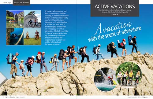 Active vacations
